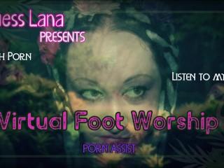 Virtual Foot worship
